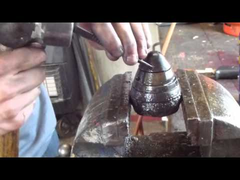 how to take apart a ww1 British no80 artillery shell fuse (tutorial)