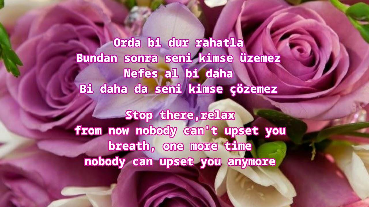 Mustafa Sandal Gel Bana Turkish Lyrics With English Translation Youtube