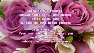 Mustafa Sandal - Gel Bana (Turkish Lyrics with English Translation)