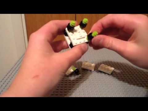 How to make a lego junior clown car part 2