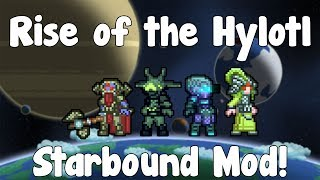 Rise of the Hylotl - Starbound Mod - BETA