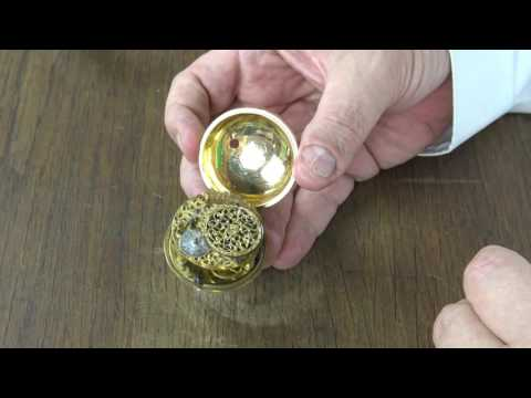 Inside secrets of a pocket watch from 1680