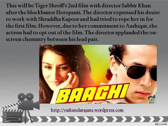 Thumbnail for Vaikundarajan Sends His Best Wishes To Tiger Shroff And Shraddha Kapoor For Baaghi