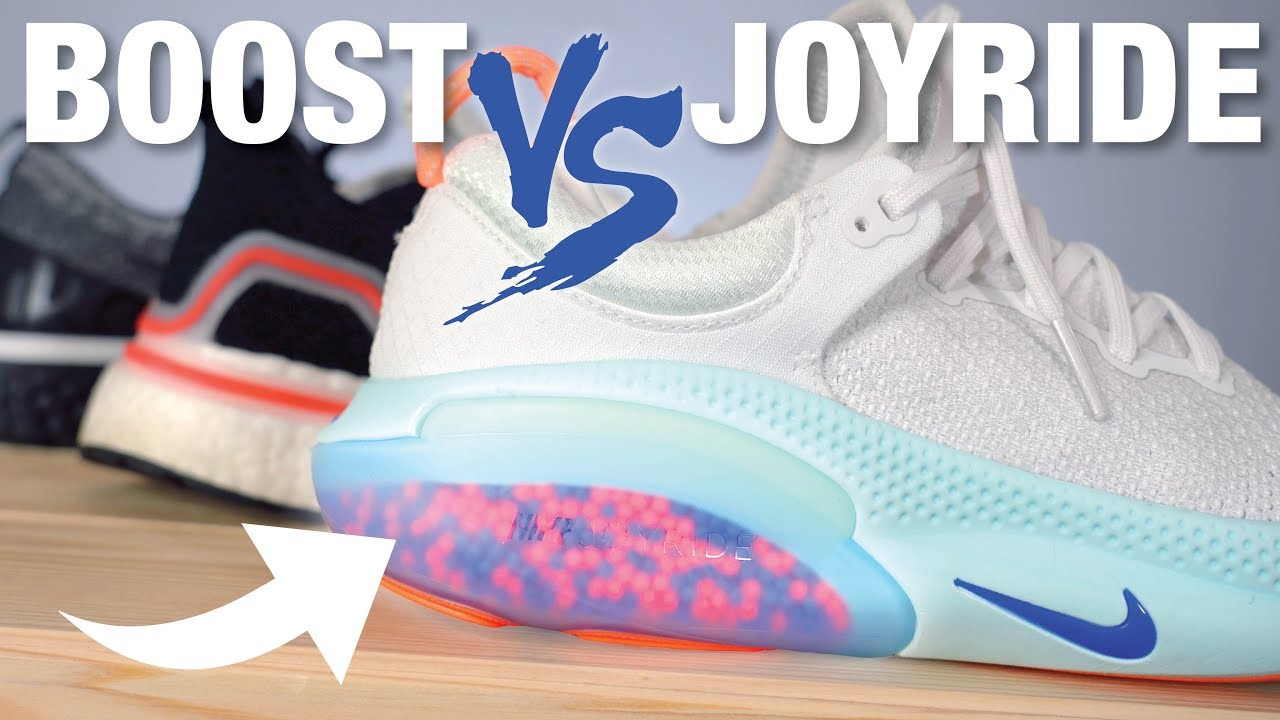 super quality picked up pretty cool Nike JOYRIDE vs Adidas BOOST vs Nike REACT: COMPARISON - YouTube