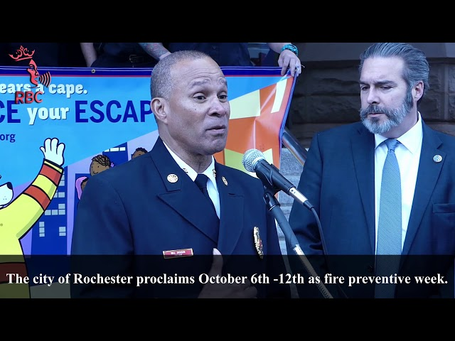 Chief Will Jackson edges people to practice and plan their escape