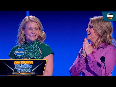 Melissa Joan Hart and Sister take on Fast Money  Celebrity Family Feud