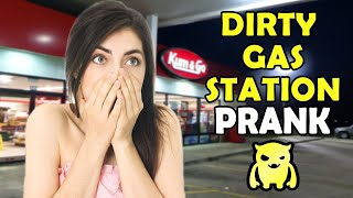 DIRTY Gas Station Prank - Ownage Pranks