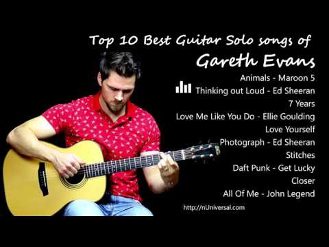 Top 10 best Guitar Solo songs of Gareth Evans (Best Guitarist)