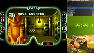 Repeat youtube video Jurassic Park SNES (English) Speedrun - 49:52