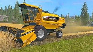 мультик про комбайн Мультик про машинки для детей Мультик про трактор Сельхозтехника для детей