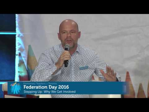 Federation Day 2016 - Stepping Up: Why We Get Involved