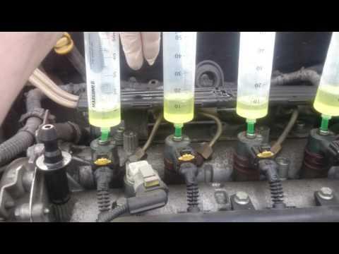 Repeat BMW E39 530D M57 Test Przelewowy Wtryskiwaczy - Fuel Injector