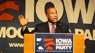 2012 Iowa Democratic Party State Convention-Deval Patrick