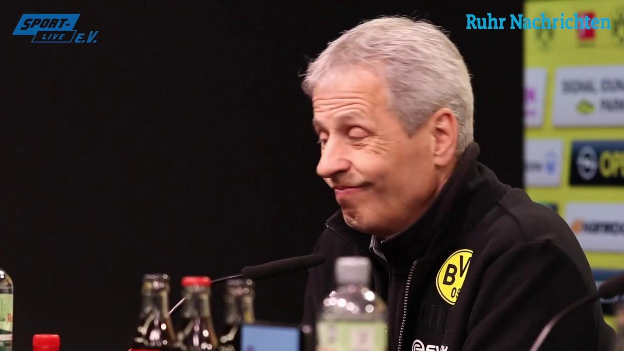 BVB - B04: Pressekonferenz mit Lucien Favre & Peter Bosz