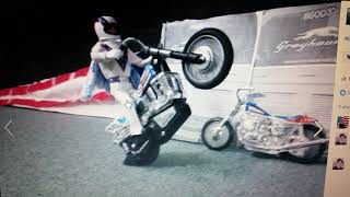 Evel Knievel Stuntcycle Evel O'Six's Tribute to EK's King's Island Jump (down and dirty compilation)