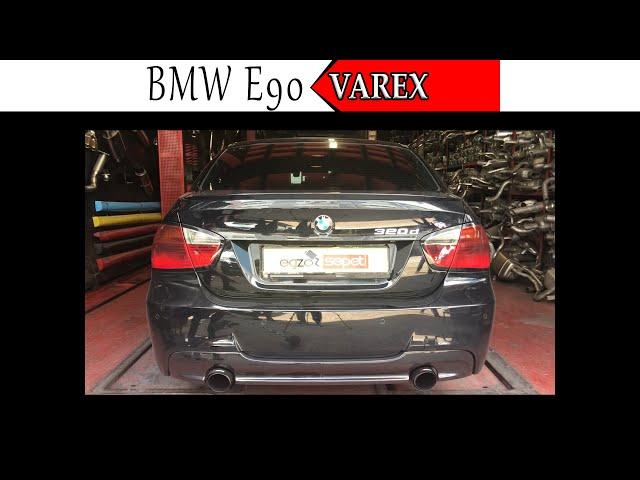 BMW E90 3.20 DİZEL KUMANDALI VAREX EGZOZ SESİ