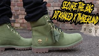 "DJ KHALED x TIMBERLAND ""SECURE THE BAG"" REVIEW AND ON FOOT"