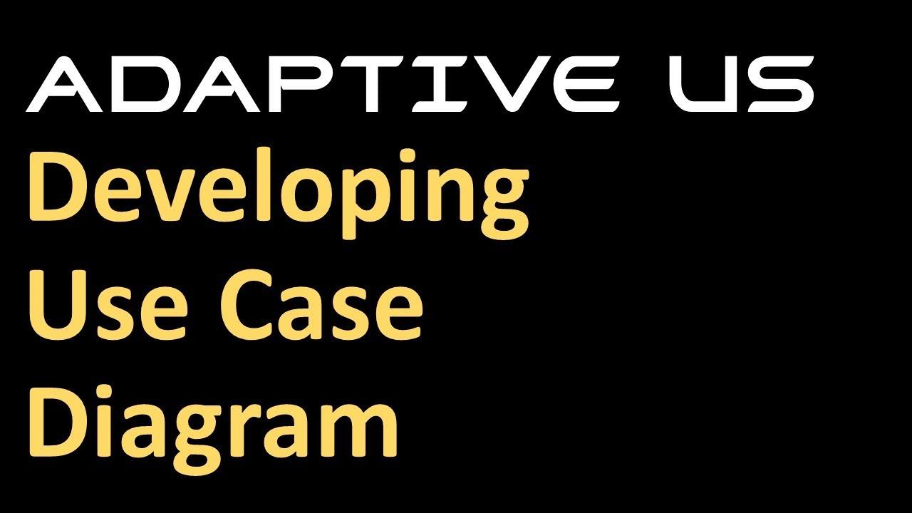 Developing use diagrams using staruml adaptive us youtube developing use diagrams using staruml adaptive us ccuart Images