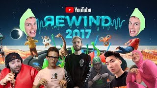 connectYoutube - THE REAL YOUTUBE REWIND 2017 ft: pewdiepie, iDubbbzTV, RiceGum, h3h3, Keemstar, FilthyFrank