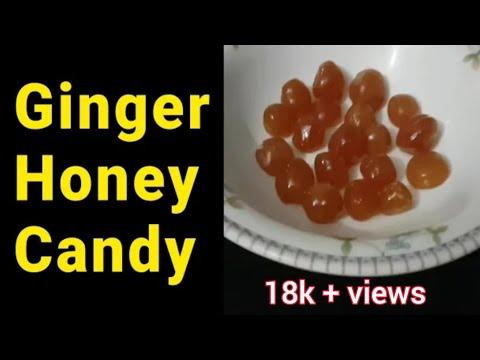 Honey Lemon Ginger Candy || Cough Candy Homemade Recipe || Recipes Vlog