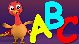ABC Song | Learn Alphabets | 3D Nursery Rhymes From Farmees | Songs For Childrens And Kids