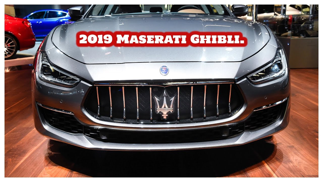 2019 Maserati Ghibli Overview Exterior Interior Features And