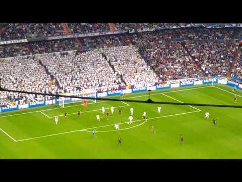 Real Madrid vs Spurs at the Santiago Bernabéu Stadium - October 2017