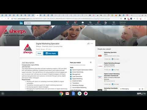 Digital Marketing Career Walkthrough Dec 2018