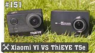 ThiEYE против Xiaomi YI II 4K - сравнение и обзор китайских экшн камер