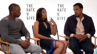 Anthony Mackie Regina Hall Russell Hornsby Interview The Hate U give