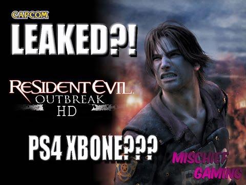 Resident evil Outbreak HD Leak Rumor Discussion