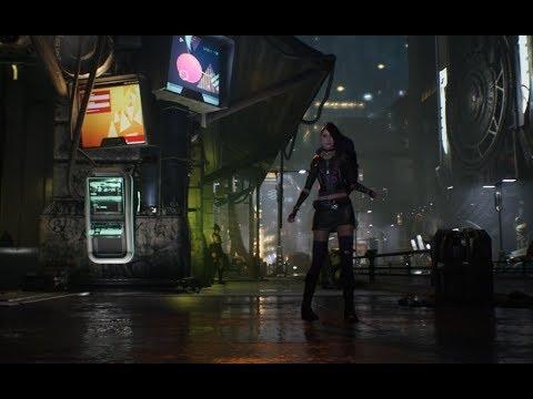 cyberpunk street level
