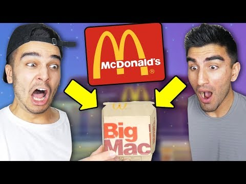 we-only-ate-mcdonalds-for-24-hours-and-found-this-in-our-burger!-(impossible-challenge)