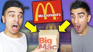 We ONLY Ate MCDONALDS for 24 HOURS and Found THIS In Our Burger! (IMPOSSIBLE CHALLENGE)