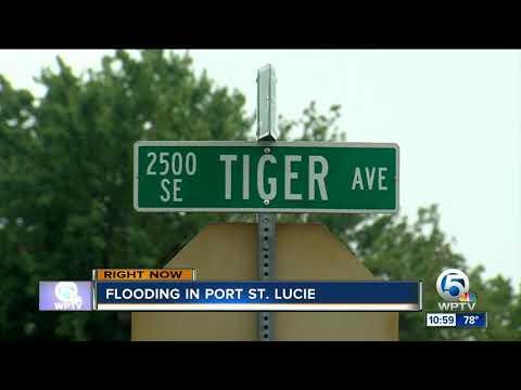 Flooding swamps Treasure Coast neighborhoods