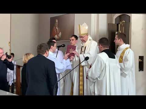 Konsekracja Parafii św  Jana XXIII W Komornikach