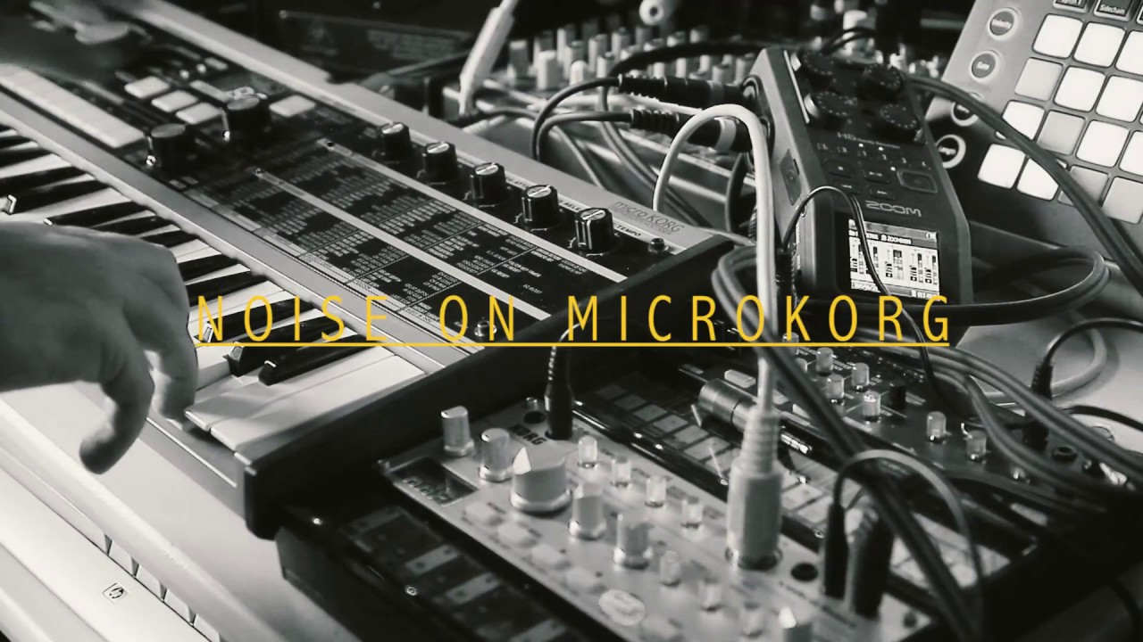 Noise session on Microkorg - Listen with headphones