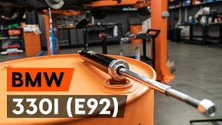 Jak vyměnit zadní tlumiče pérování na BMW 330i 3 (E92) [NÁVOD AUTODOC]