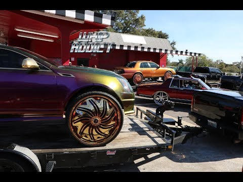 WhipAddict: MLK Day in St. Pete 2018, Big Rims, Custom Cars, Swerve Action