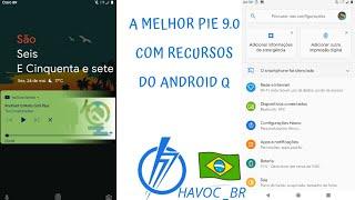 A melhor ROM com recursos Android Q moto g5s plus havoc Br