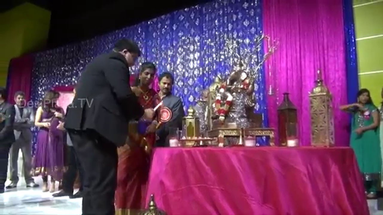 Lighting the Diya at Life Again WorldWide Launch