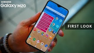 Samsung Galaxy M20 FIRST LOOK | Galaxy M20 Price, Specifications, Release Date in INDIA