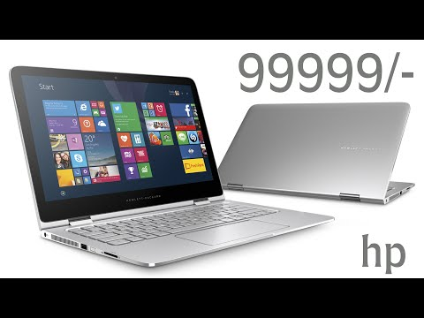 | HP Spectre X360  Review  The Battery King! |  Hindi review |