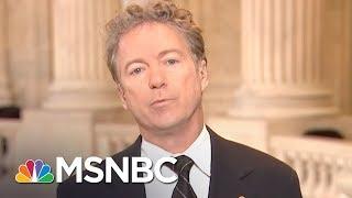 Senator Rand Paul On FISA, FBI Agents Conspiring Against Donald Trump | Morning Joe | MSNBC