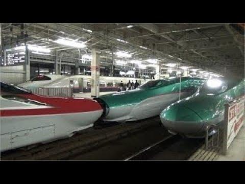 東北新幹線 仙台駅 Tohoku SHINKANSEN Sendai station