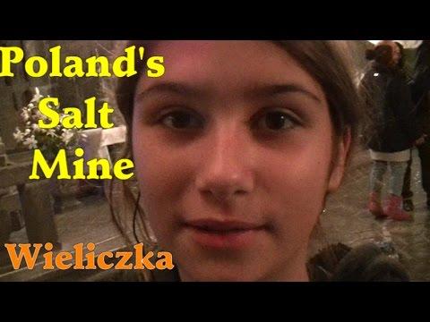 Poland Trip - Wieliczka Salt Mine ポーランド塩鉱山