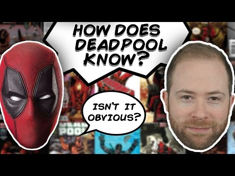 How Does Deadpool Know He's a Comic Book Character? | Idea Channel | PBS Digital Studios (examines the phenomenological implications of someone, like Deadpool, who is psychologically unfazed by their own mutilation and/or physical destruction)