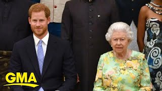 Gambar cover Prince Harry, Queen Elizabeth meet one-on-one at Windsor Castle