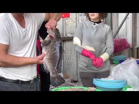 Taiwan Seafood Auction/海鮮叫賣哥
