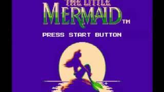 The Little Mermaid (NES) Music - Sea of Ice